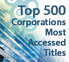 Top 500 Corporations Most Accessed Titles