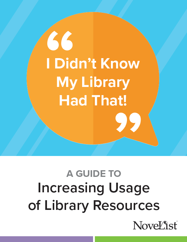 Guide to increasing usage of library resources
