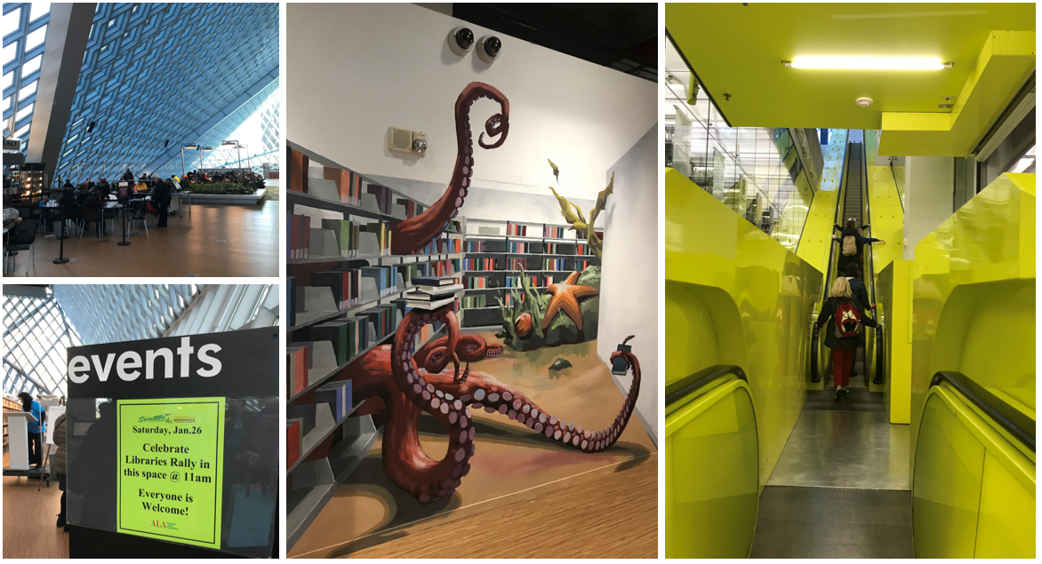 Pictures of the Seattle Public Library