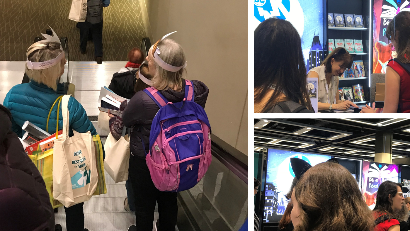 Pictures of people at ALAMW conference