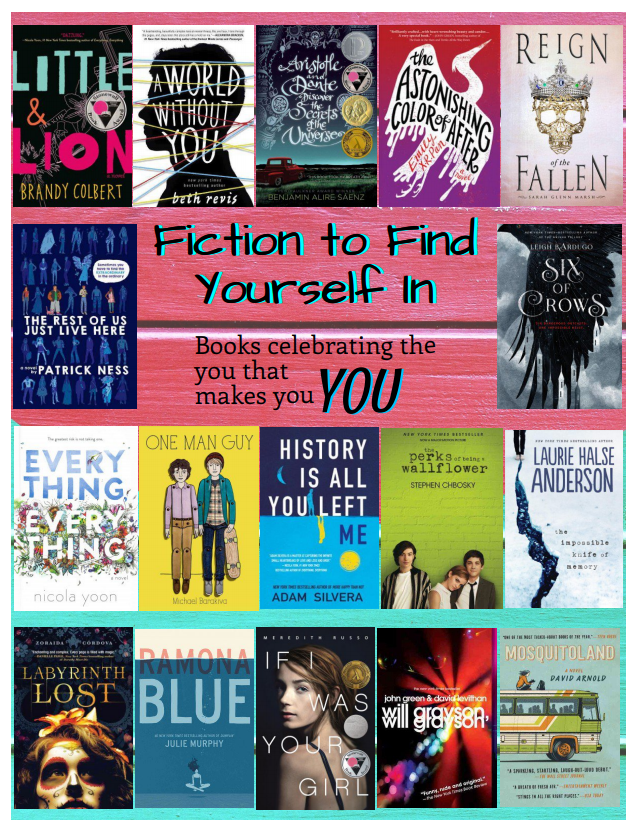 Fiction to Find Yourself Flyer