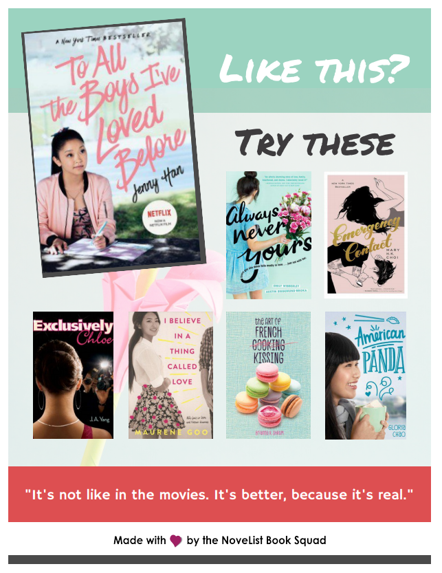 Crazy Cute Asian American Rom-Coms | NoveList Blog | EBSCOhost
