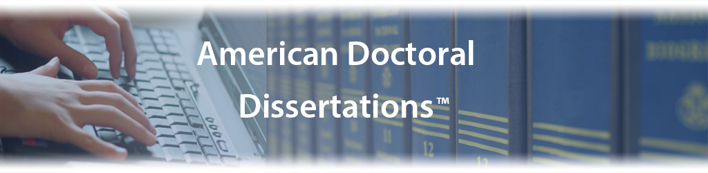 Doctoral dissertation databases