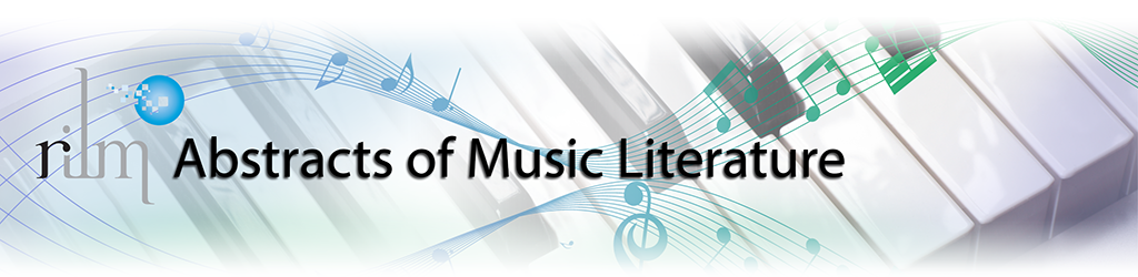 Doctoral dissertations in music