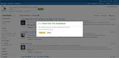 EBSCO Audiobooks Checkout Screen