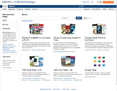 EBSCOhost Collection Manager Interface