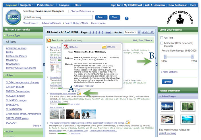 Library Blog: EBSCOhost Online Research Databases: Mobile Access