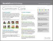 Common Core Resources Search Strategy