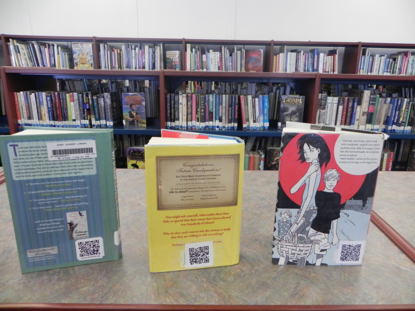 Using qr codes to promote your library novelist ebscohost mystery qr codes fandeluxe Image collections