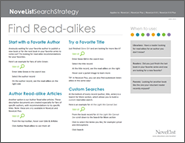 Find Read-alikes Search Strategy