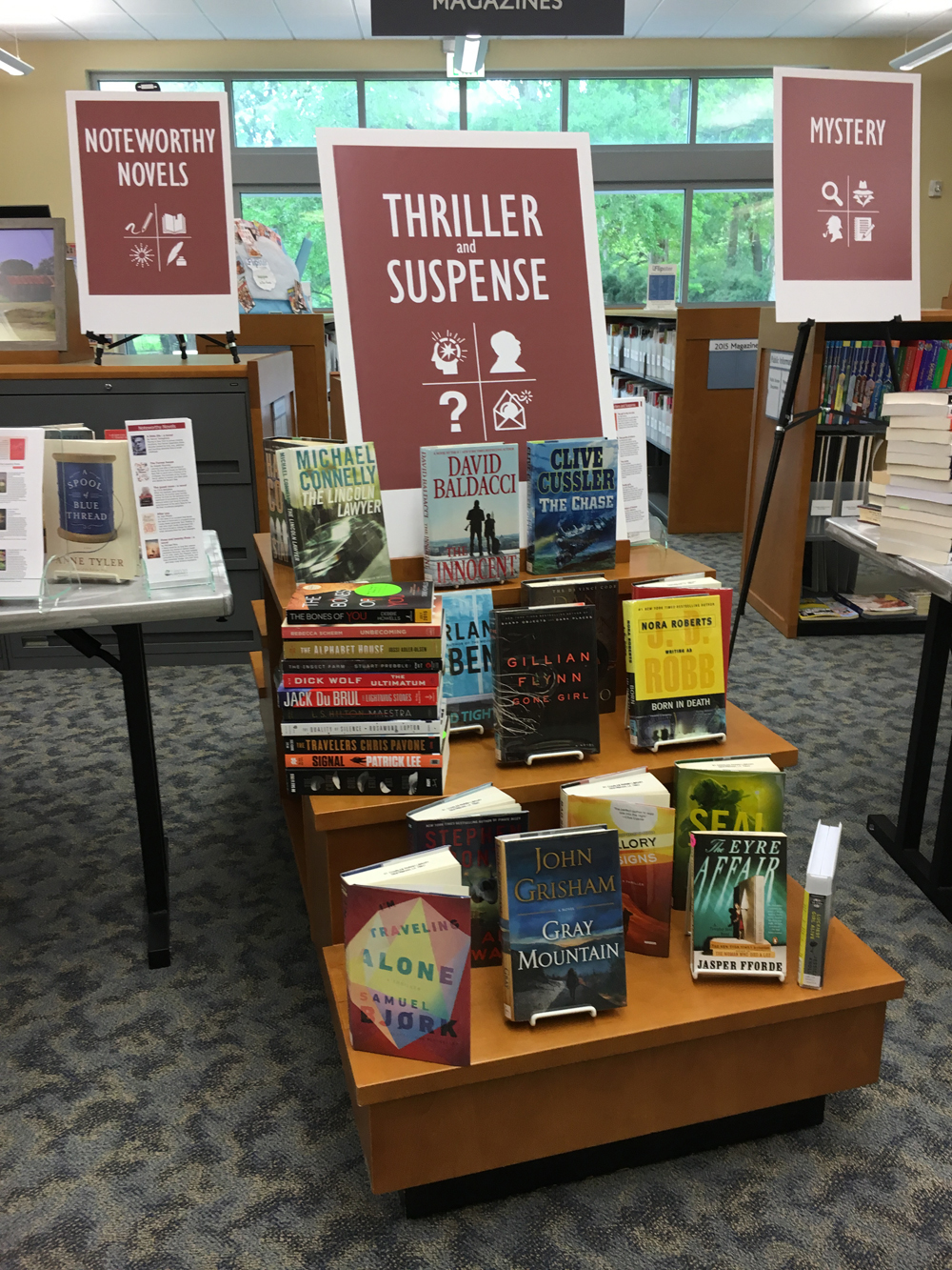 Display at SCPL