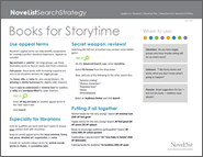 Books for Storytime Search Strategy