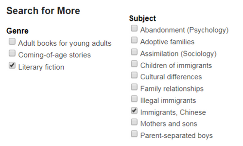 Find It In Novelist Resources For Asian Pacific Islander American