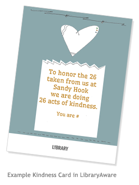 Example Kindness Card
