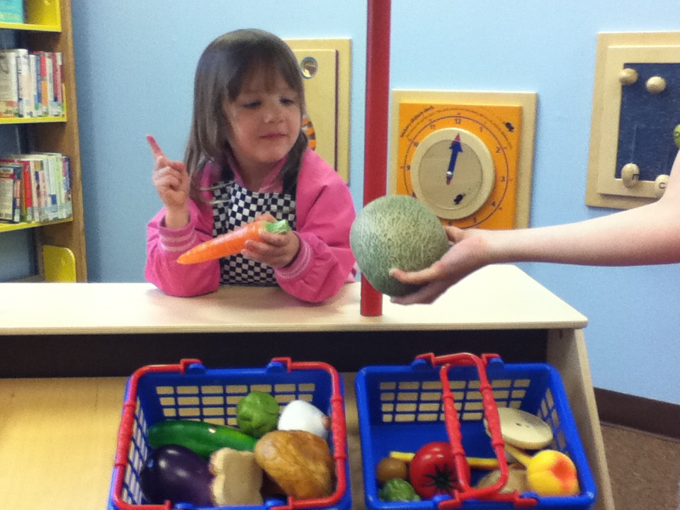 Toddlers enjoy the new Rice Lake Public Library's Early Literacy Grant Project.