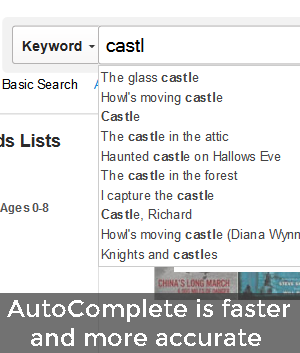 Improved AutoComplete